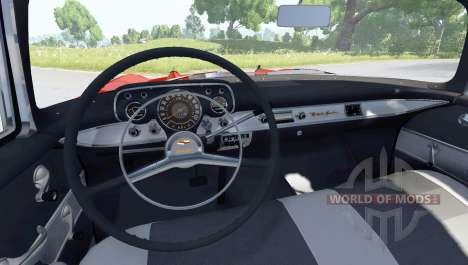 Chevrolet Bel Air Coupe 1957 para BeamNG Drive