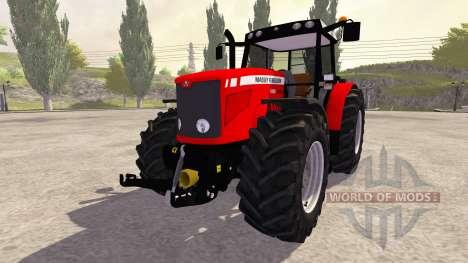 Massey Ferguson 6480 v1.0 para Farming Simulator 2013