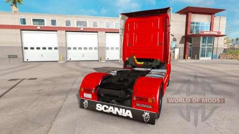Scania 164L 580 v2.2.1 para American Truck Simulator