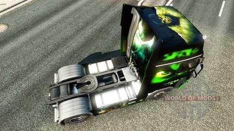 HULK piel para camiones Volvo para Euro Truck Simulator 2