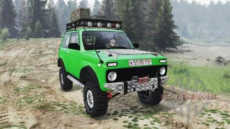 VAZ-2121 Niva [03.03.16] para Spin Tires