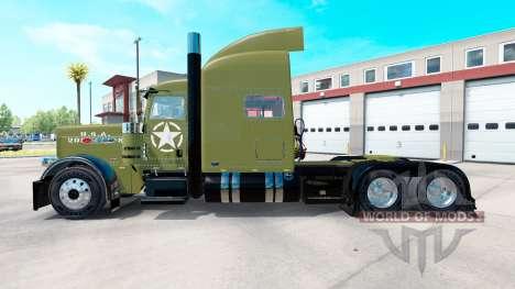 El Ejército de USA piel de Peterbilt 389 camión para American Truck Simulator