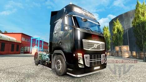 Zombie de la piel para el Volvo para Euro Truck Simulator 2
