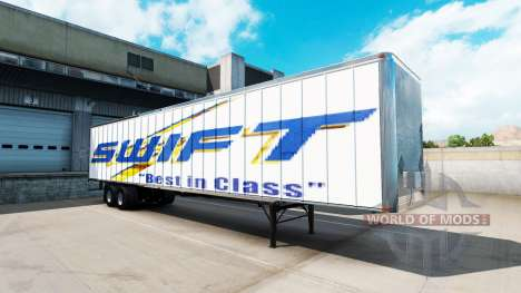 Remolque Swift para American Truck Simulator