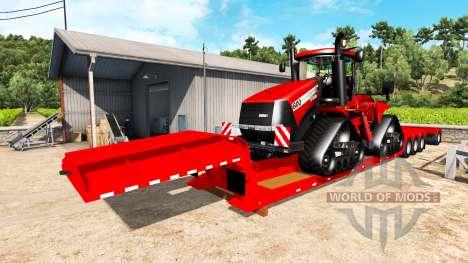 Baja barrido de Case IH Quadtrac 600 para American Truck Simulator