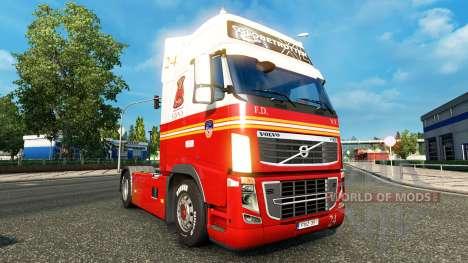 24 departamento de BOMBEROS de la piel para cami para Euro Truck Simulator 2