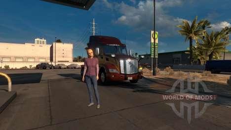El administrador de para American Truck Simulator