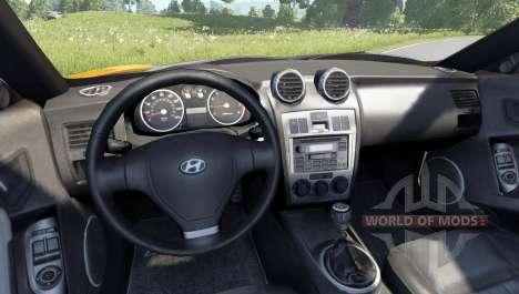 Hyundai Tiburon V6 Coupe 2003 para BeamNG Drive