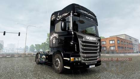 El Jack Daniels Cumpleaños de la piel para Scani para Euro Truck Simulator 2