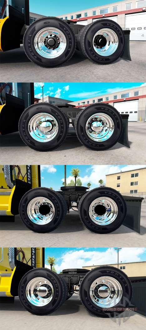 Llantas Alcoa para American Truck Simulator