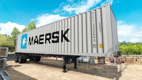 Semirremolque contenedor de v0.1 para American Truck Simulator