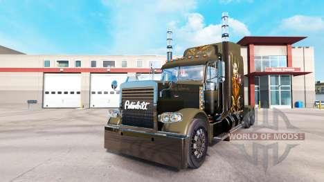 La piel de Viking para camión Peterbilt 389 para American Truck Simulator