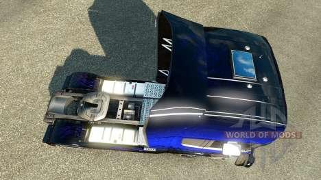 Escorpión azul de la piel para Scania camión para Euro Truck Simulator 2