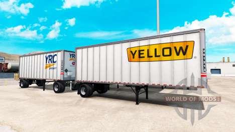 Semi remolque para American Truck Simulator