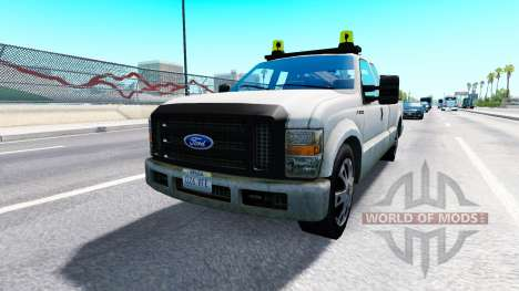 Ford F-250 Service [traffic] para American Truck Simulator