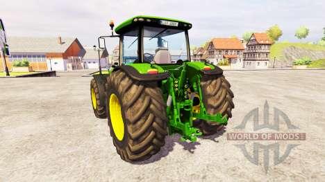 John Deere 8360R [front linkage] v2.1 para Farming Simulator 2013