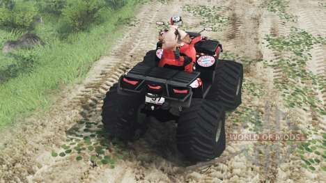 Can-Am Outlander 1000 XT [03.03.16] para Spin Tires