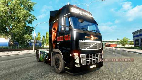 Ironman piel para camiones Volvo para Euro Truck Simulator 2