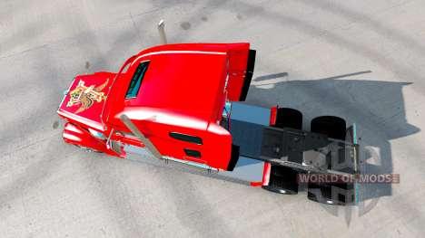 La piel de la Budweiser tractor Freightliner Cor para American Truck Simulator