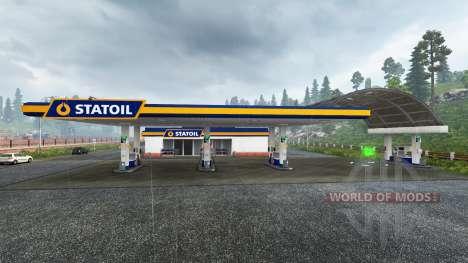 Europea de la estación de gasolina para Euro Truck Simulator 2