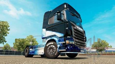 La tierra de la piel para Scania camión para Euro Truck Simulator 2