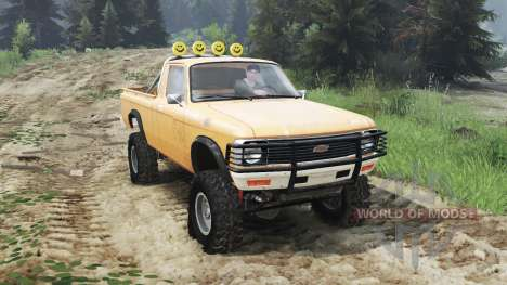 Chevrolet LUV 1979 [03.03.16] para Spin Tires