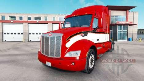 Vintage de la piel para el camión Peterbilt para American Truck Simulator