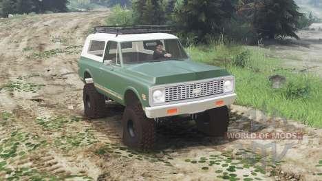 Chevrolet K5 Blazer 1975 [03.03.16] para Spin Tires