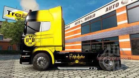 BvB de la piel para el Scania truck para Euro Truck Simulator 2