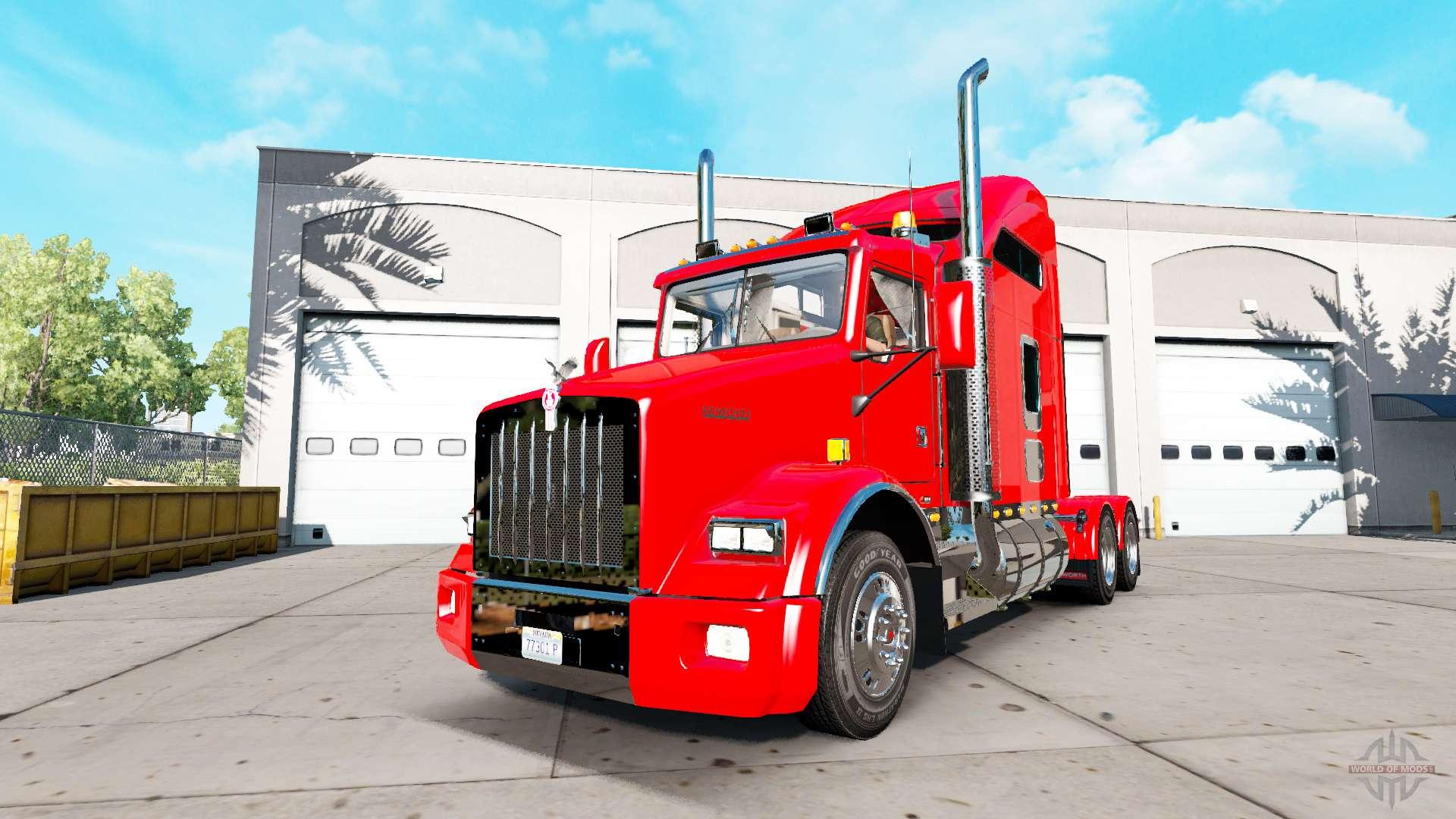 Kenworth T800 Update Para American Truck Simulator