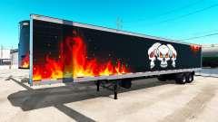 Refrigerado semi-remolque de Camiones Reaper