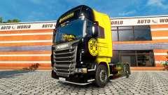 BvB de la piel para el Scania truck