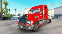 La piel de la Budweiser tractor Freightliner Cor