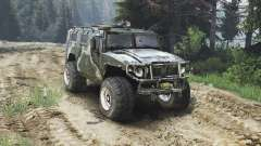 GAZ-2975 Tigre [diesel][25.12.15] para Spin Tires