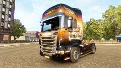 Jack Daniels de la piel para Scania camión