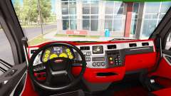 Color de Peterbilt 579 interior en el estilo de