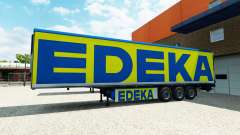 El semi-remolque de EDEKA