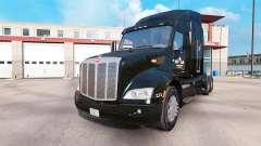La piel de Outlaw Transporte en camión Peterbilt
