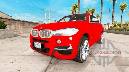 BMW X6 M50d 2015 para American Truck Simulator