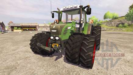 Fendt 312 Vario TMS v2.0 [red] para Farming Simulator 2013