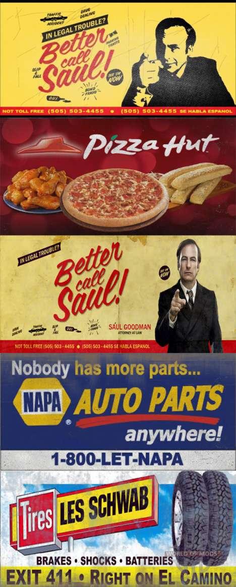 Real de las marcas en las carteleras para American Truck Simulator