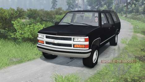 Chevrolet Suburban GMT400 [03.03.16] para Spin Tires