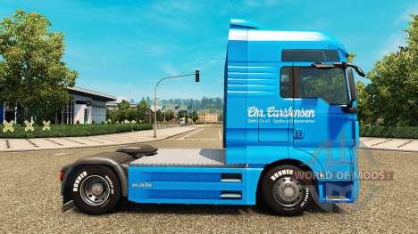 Carstensen piel para HOMBRE camión para Euro Truck Simulator 2