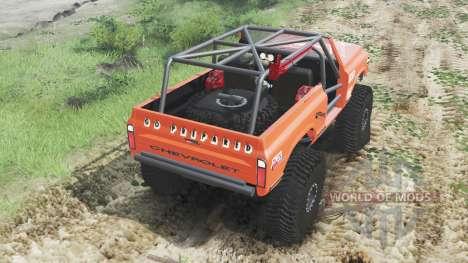 Chevrolet K5 Blazer 1972 [crawler] para Spin Tires