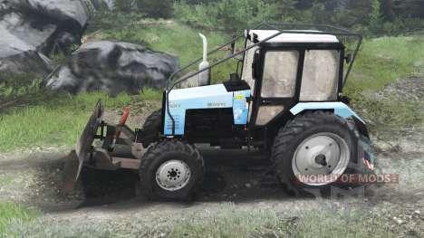 MTZ-1221.2 Belarús [03.03.16] para Spin Tires