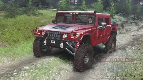 Hummer H1 [03.03.16] para Spin Tires