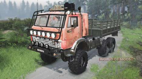 KamAZ 4310 la URSS [03.03.16] para Spin Tires