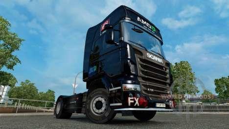 AMD FX de la piel para Scania camión para Euro Truck Simulator 2