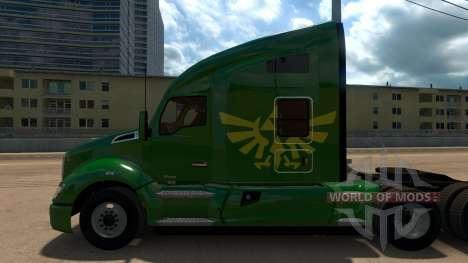 Zelda Skin for Peterbilt 579 para American Truck Simulator