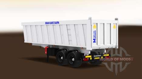 Autónomas, semi-camión para American Truck Simulator